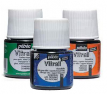 Pebeo Vitrail Solvent Based Colours