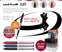Uni-ball AIR pens