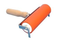 Abig Wooden Handle Lino Roller