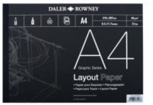 Daler Rowney Layout Pads 45gsm