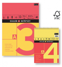 Daler Rowney Series A Spiral Cartridge 150gsm