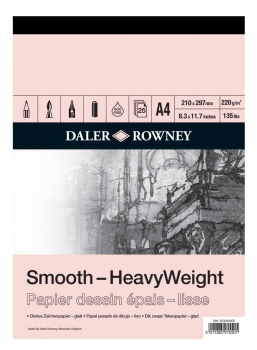 Daler Rowney Heavyweight Pads 220gsm
