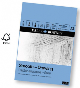 Daler Rowney Drawing Pads 200gsm