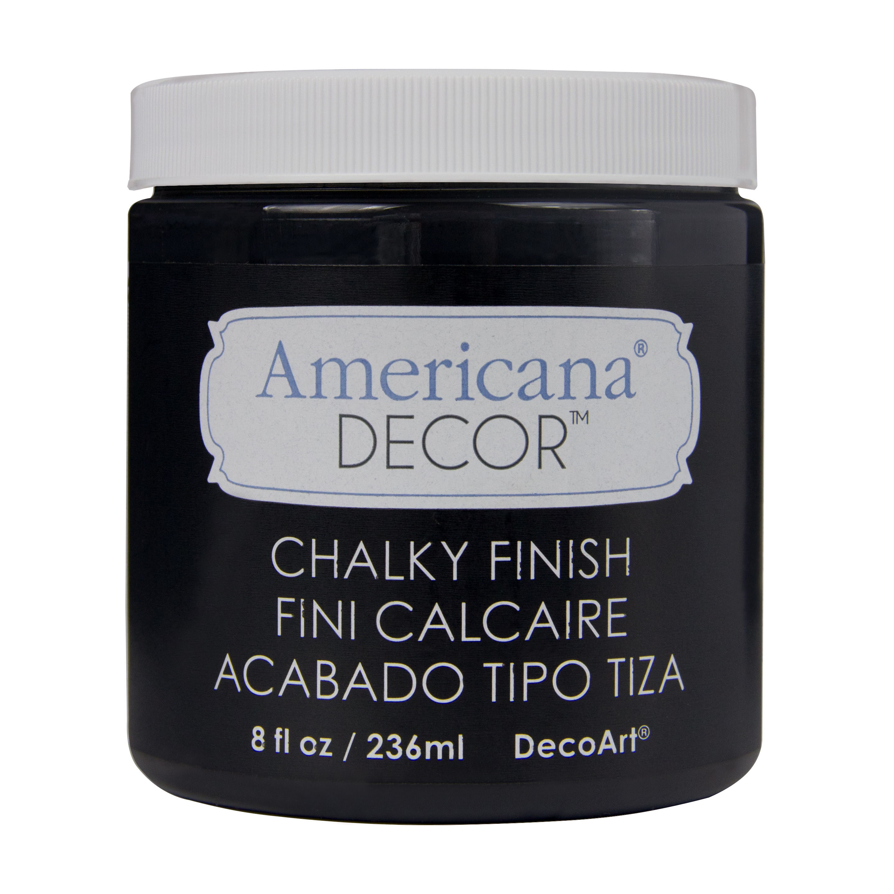 CARBON CHALKY FINISH 236ml AMERICANA&#174; DECOR<sup>(TM)</sup>