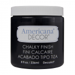 CARBON CHALKY FINISH 236ml AMERICANA® DECOR<sup>(TM)</sup>