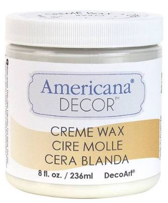 CREME WAX CLEAR 8oz 236ml AMERICANA&#174; DECOR<sup>(TM)</sup>