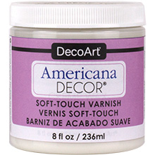 SOFT TOUCH VARNISH 8oz 236ml AMERICANA&#174; DECOR<sup>(TM)</sup>