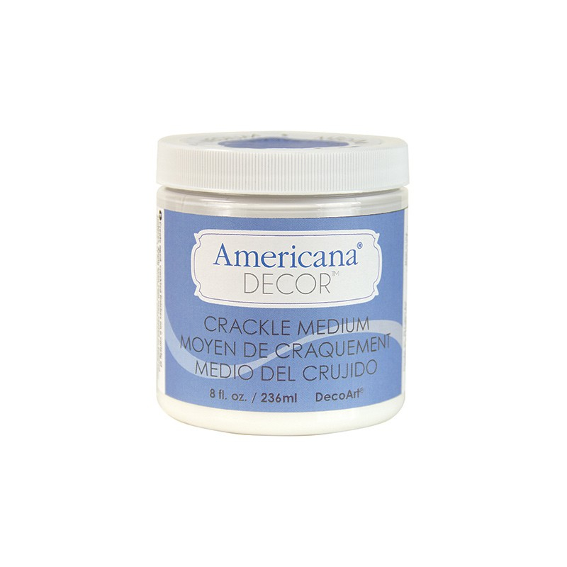 CRACKLE MEDIUM 236ml AMERICANA&#174; DECOR<sup>(TM)</sup>