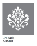 BROCADE 6inchx6inch AMERICANA® DECOR<sup>(TM)</sup> STENCIL