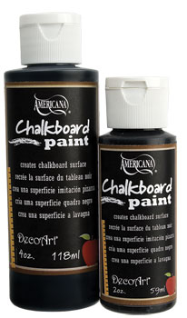 DECO ART CHALKBOARD PAINT 2oz DS90 BLACK