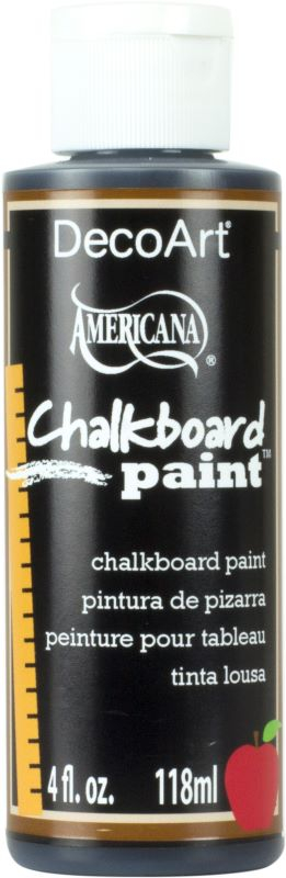 DECO ART CHALKBOARD PAINT 4oz DS90-62 BLACK 118ml AMERICANA