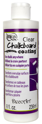CLEAR CHALKBOARD COATING 8oz DS107-9