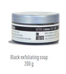 BLACK EXFOLIATING HAND SOAP 200g PEBEO 801240