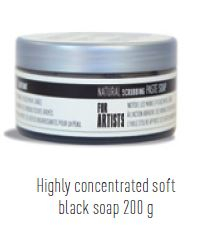 BLACK SOFT SOAP FOR BRUSHES 200g PEBEO 801250