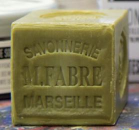 HARD SOAP CUBE 200ml WITH OLIVE OIL PEBEO 801210
