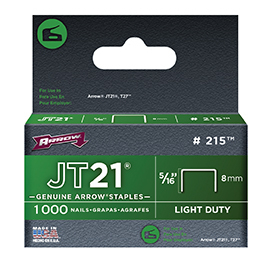 ARROW JT21 8mm STAPLES 1000 215i