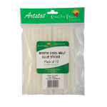 BOSTIK CRAFT GLUE GUN - COOL MELT GLUE STICKS 12'S