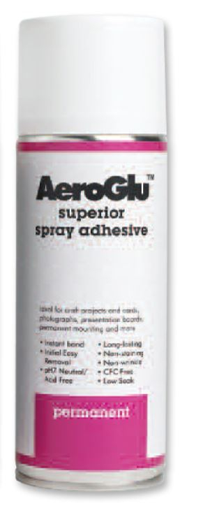 AEROGLU PERMANENT 400ml U-CRAFT SPRAY ADHESIVE 400253