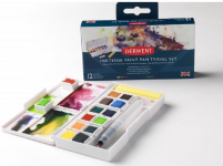 DERWENT INKTENSE PAINT PAN TRAVEL SET #1 2302636  SINGLES