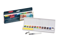 DERWENT INKTENSE PAINT PAN STUDIO SET 24 2305545