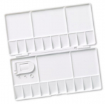 REEVES SMALL PLASTIC FOLDING PALETTE 8490923