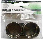 DOUBLE METAL DIPPER 38mm (1.5inch) 845900500