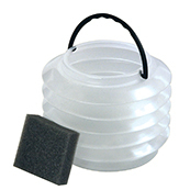 PLASTIC (Lantern) COLLAPSIBLE BRUSH WASHER
