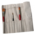 HESSIAN BRUSH ROLL - SHORT HANDLE
