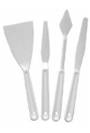 PLASTIC PALETTE KNIFE SET OF 4 740-4