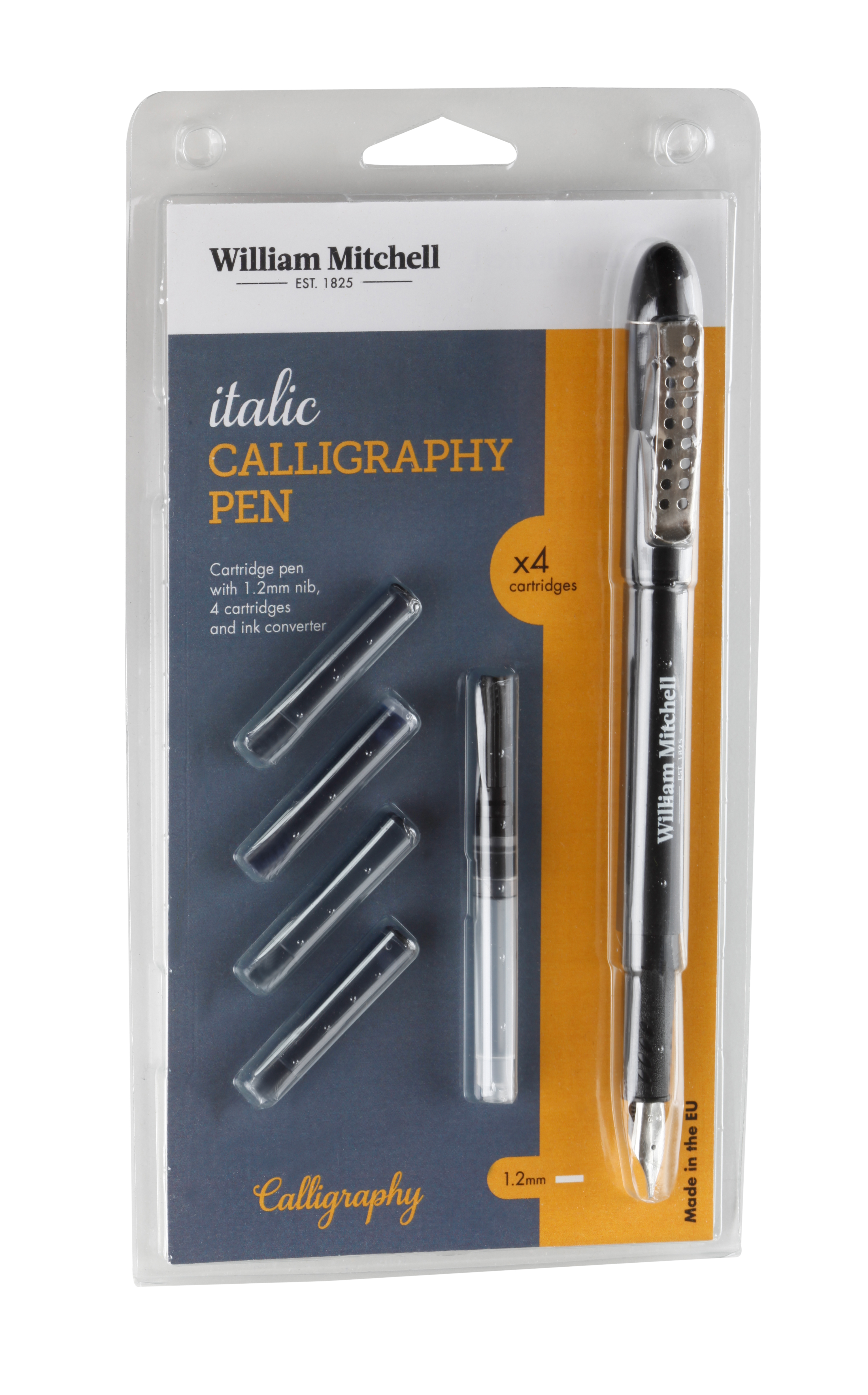ITALIC CALLIGRAPHY PEN WILLIAM MITCHELL