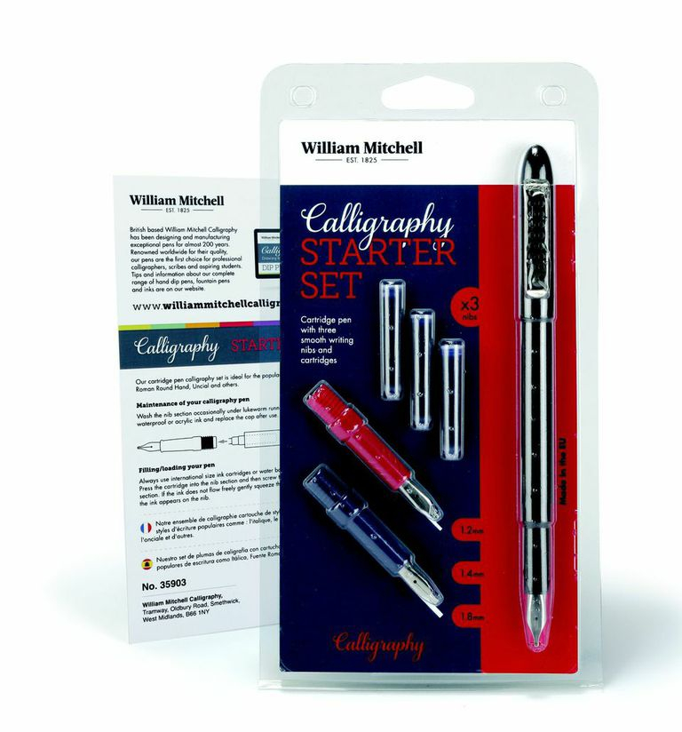 Wm. MITCHELL CALLIGRAPHY STARTER SET 35903