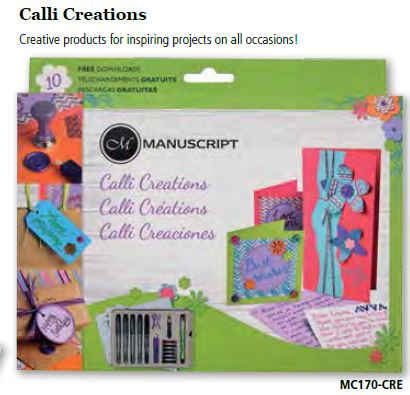 CALLI-CREATIONS CRAFT SET by MANUSCRIPT