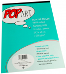 PEBEO COTTON CANVAS PAD A3 POP ART 10 SHEETS 811022