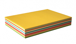 COLOURED CARD A4/190gsm - 200 ASSORTED PACK