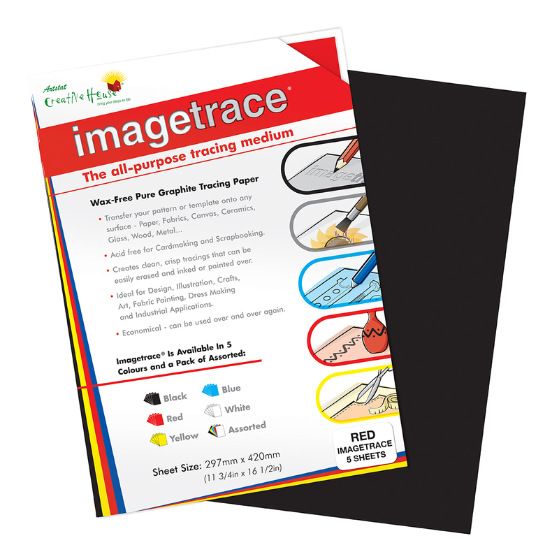 IMAGETRACE A3  BLACK 5 SHEETS CREATIVE HOUSE