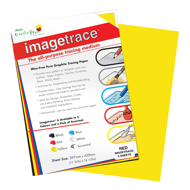 IMAGETRACE A3  YELLOW 5 SHEETS CREATIVE HOUSE