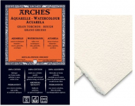 ARCHES WATERCOLOUR PAPER 90lb /185gsm 56x76cm ROUGH(TORCHON)
