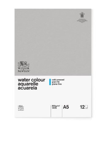WN A5 GLUED CLASSIC 12SH CP WATERCOLOUR PAD 300G 6663250