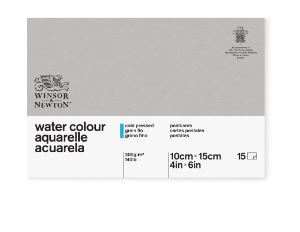 WN POSTCARD CLASSIC 15 CP WATERCOLOUR PAD 300G 6663255