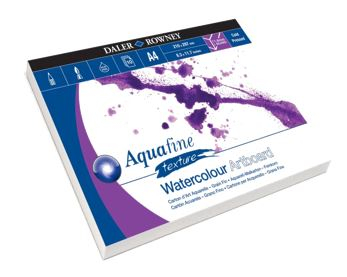 DR A4 AQUAFINE WATERCOLOUR NOT ARTBOARD PAD 10 SH 304601410