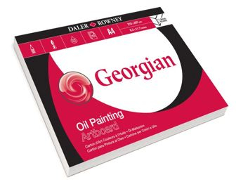 DR A4 GEORGIAN OIL PAINTING ARTBOARD PAD 10 SH 304603410