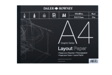 DR LAYOUT PAD A2 80 SHEET 45gsm 403030200