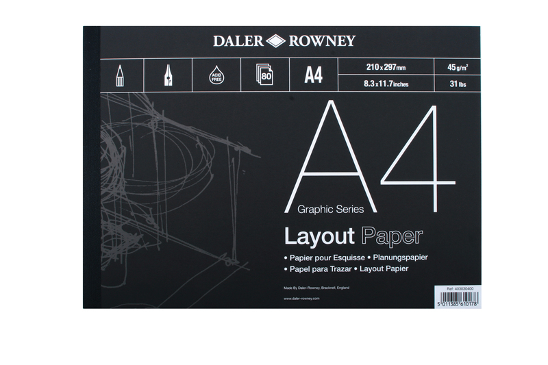 DR LAYOUT PAD A3 80 SHEET 45gsm 403030300