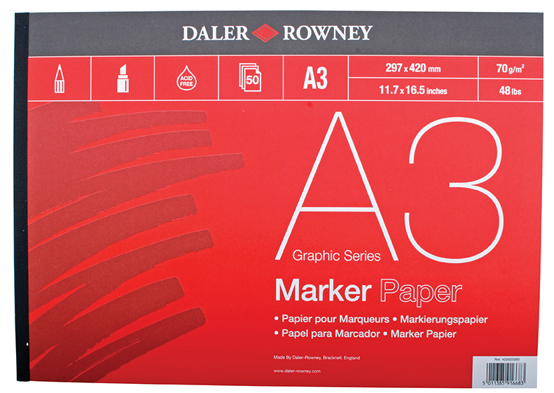 DR MARKER PAD - A3 403425300