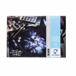VAN GOGH A4 BLACK WATERCOLOUR PAPER 12 SHEETS 360g 94170002