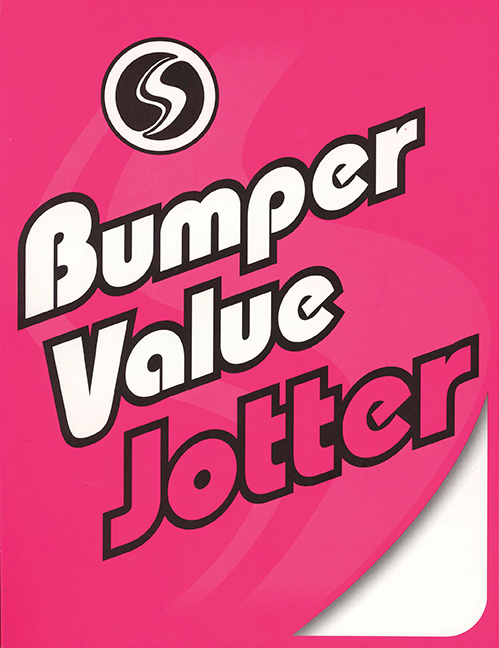 BUMPER VALUE JOTTER