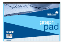SILVINE GRAPH PAD A3 1/5/10mm     A3GP