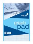SILVINE GRAPH PAD A4 1/5/10mm   A4GP