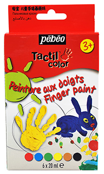 PEBEO TACTILCOLOR DISCOVERY SET 6 x 20ml 633810