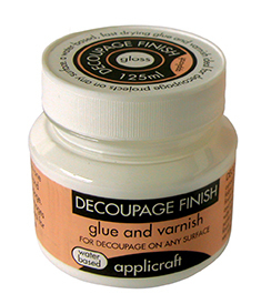 DECOUPAGE FINISH - GLOSS/100ml by APPLICRAFT
